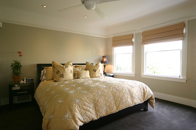 Master Bedroom, San Francisco interior design, accessories, accent lighting