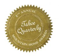 Tahoe Quarterly Mountain Home Awards